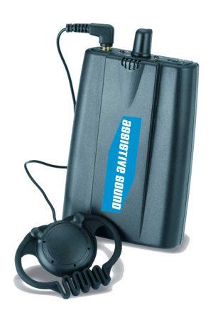 AS201R UHF Beltpack ontvanger