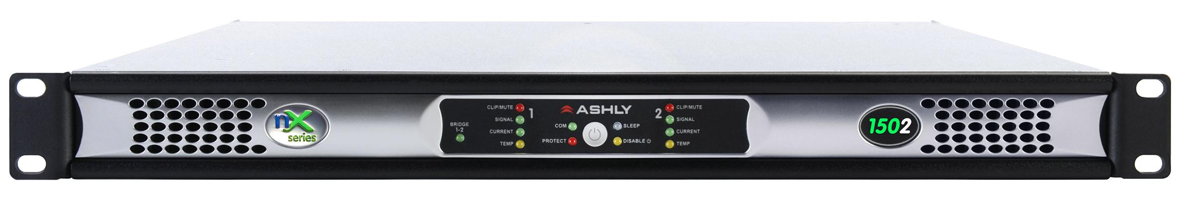 Ashly nX1502 voorkant