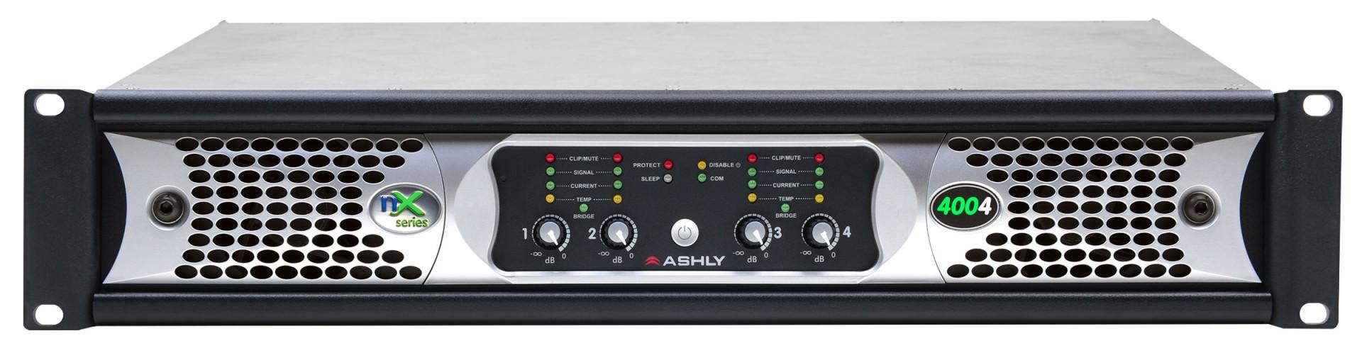 Ashly nX4004 voorkant