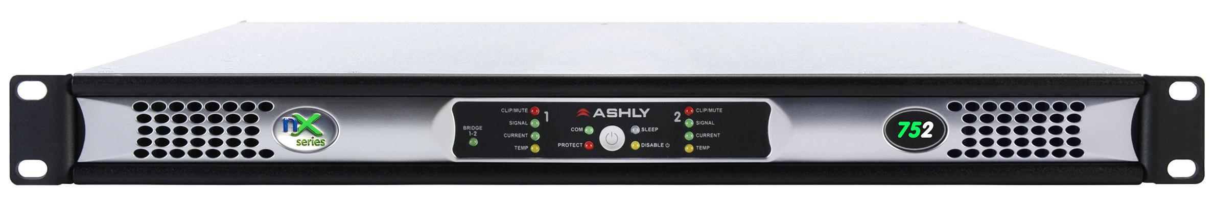 Ashly nX752 voorkant