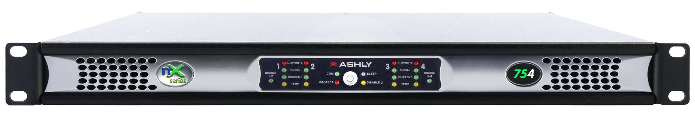 Ashly nX754 voorkant