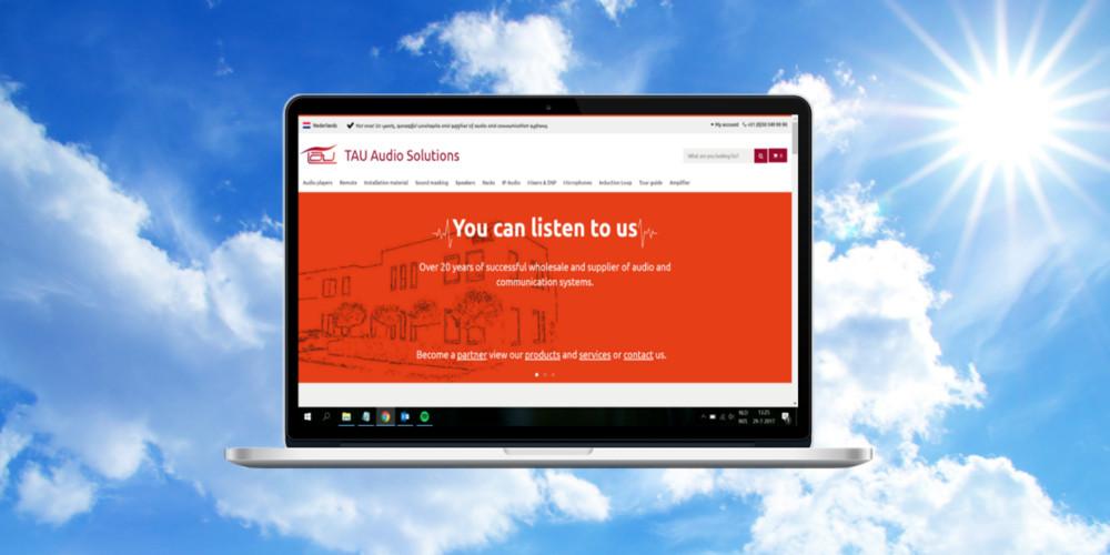 News New Website Tau Nl Tau Audio Solutions