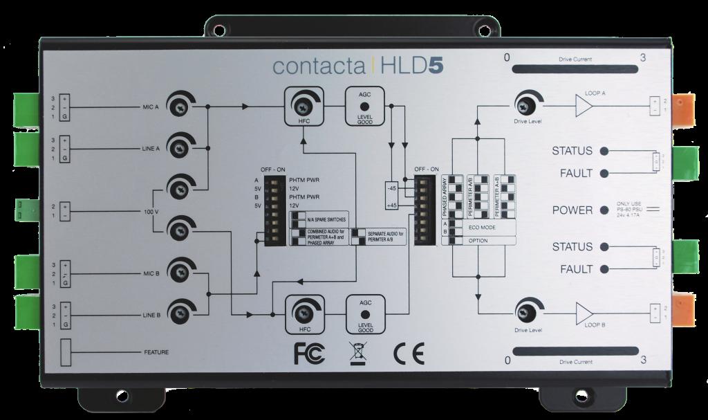 Contacta Hld5 Hearing Loop Driver Tau Audio Solutions Bv
