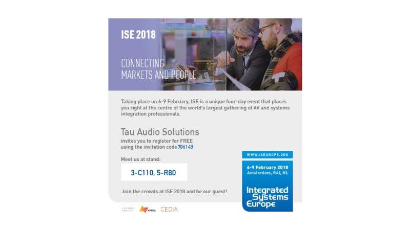 Uitnodiging ISE 2018