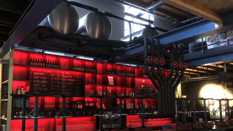 sound installation in beer brewery Stanislaus Brewskovitch