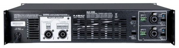 Ashly KLR-3200(.70) rear