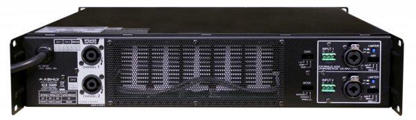 Ashly KLR-5000 rear