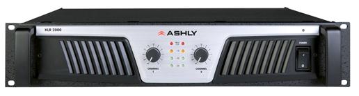 ashly KLR-2000 front