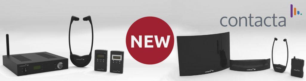 Nieuwe IR en RF systemen van Contacta banner