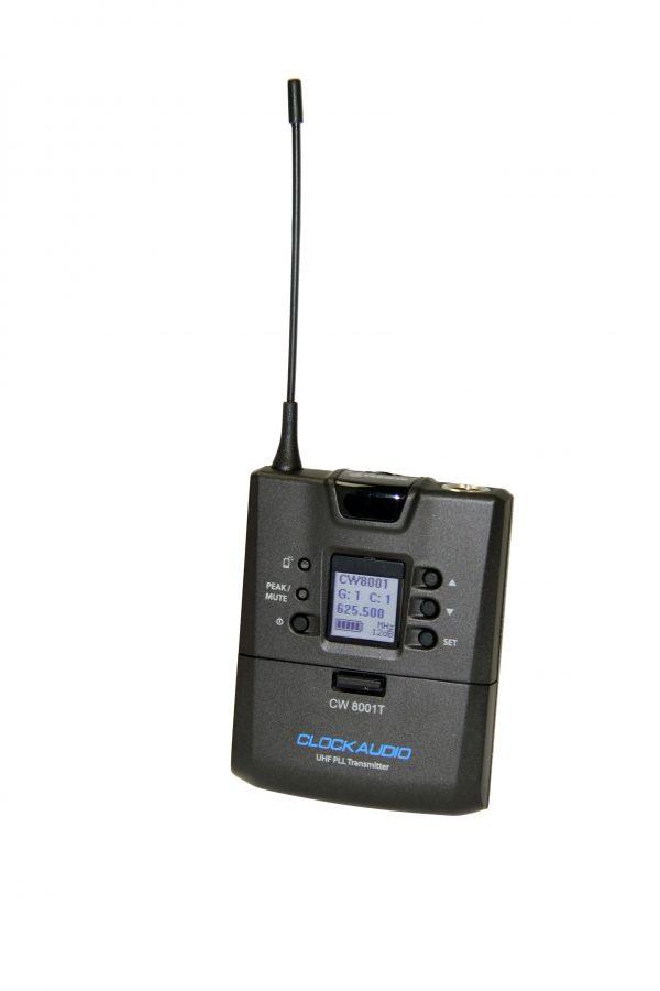 Clockaudio CW 8001 beltpack transmitter