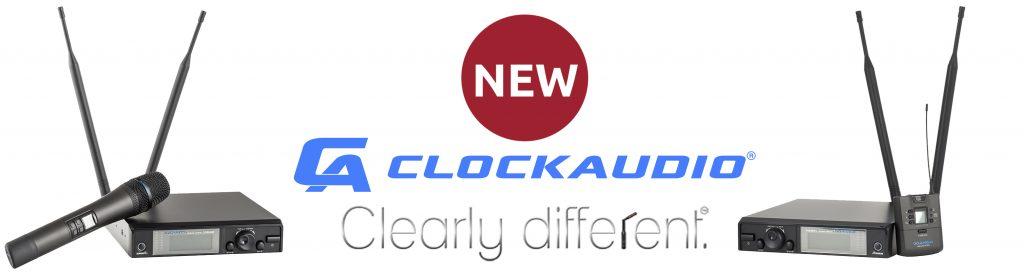 CW 8000 en CW 8001, nieuwe draadloze microfoons van Clockaudio banner