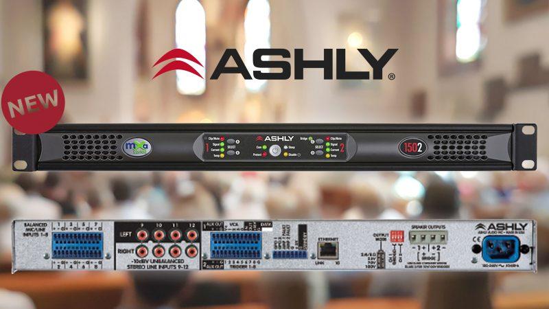 Nieuw - Ashly mXa-1502