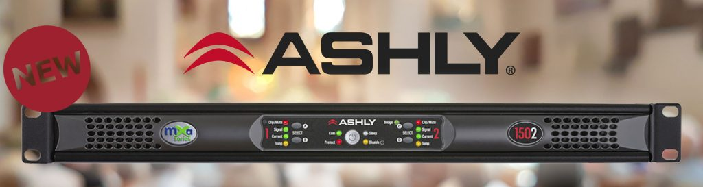 Nieuw - Ashly mXa-1502 banner