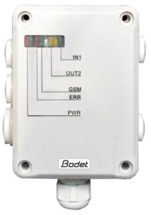 Bodet GSM control