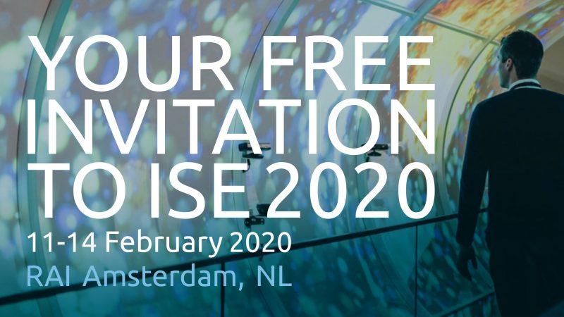 uitnodiging ISE 2020