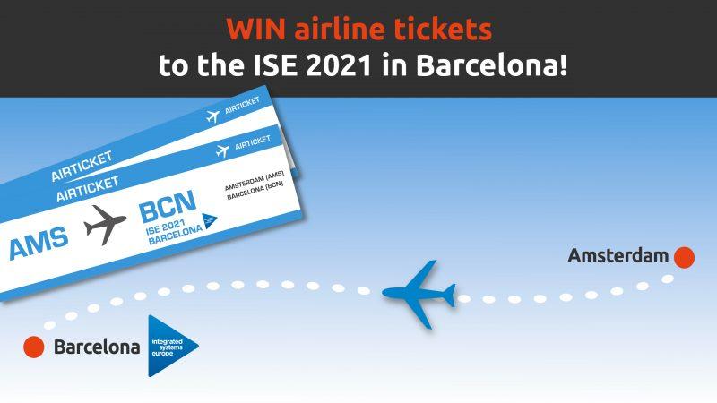 Tau ISE2020 airline ticket actie