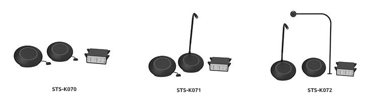 Nieuw intercomsystemen ST-K07x serie Contacta