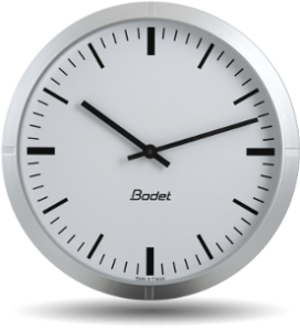tijdmanagement zorgsector digitale klok Bodet