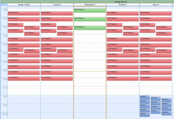 Lestijdsignalering Sigma Software weekoverzicht en 10 min