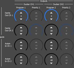 IPD-HUB2 signaal als Program of als Priority signal worden gebruikt