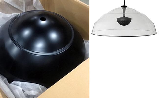 Focus dome luidspreker in-RAL-kleur
